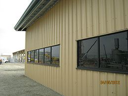 Metal Building Construction Finished Exterior Image