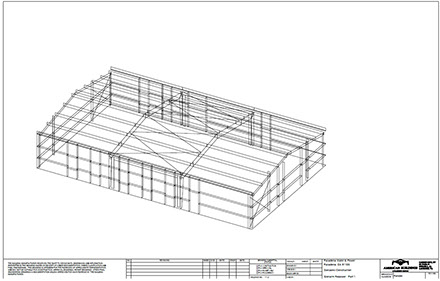Metal Building Services - Floor plans for metal buildings