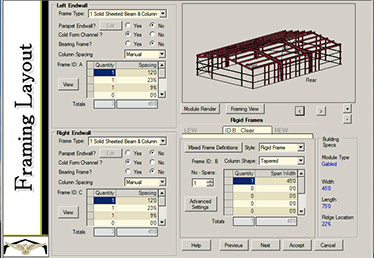 Metal building services for Building construction design software